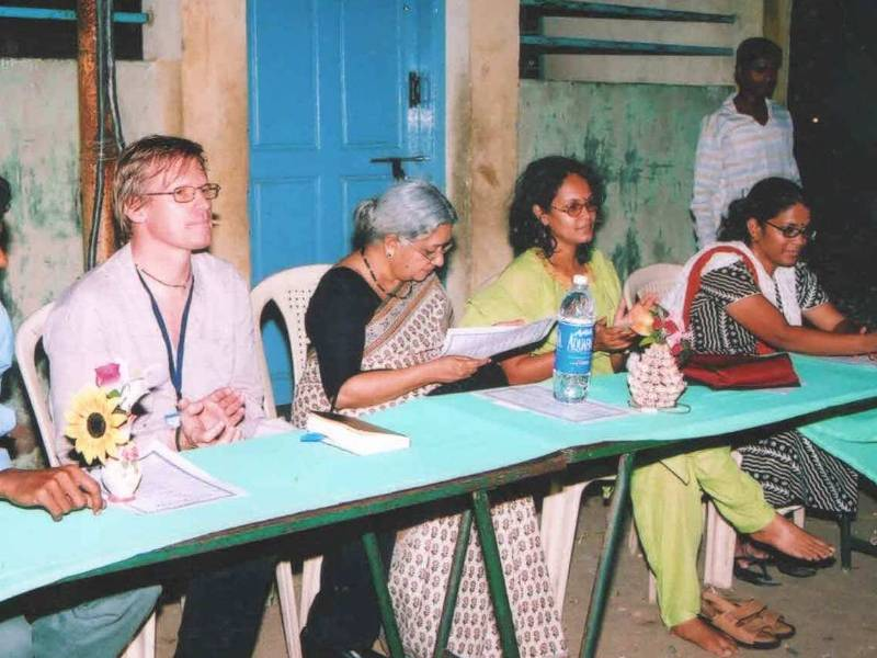 Tsunami Response-Pazhaverkadu, Chennai