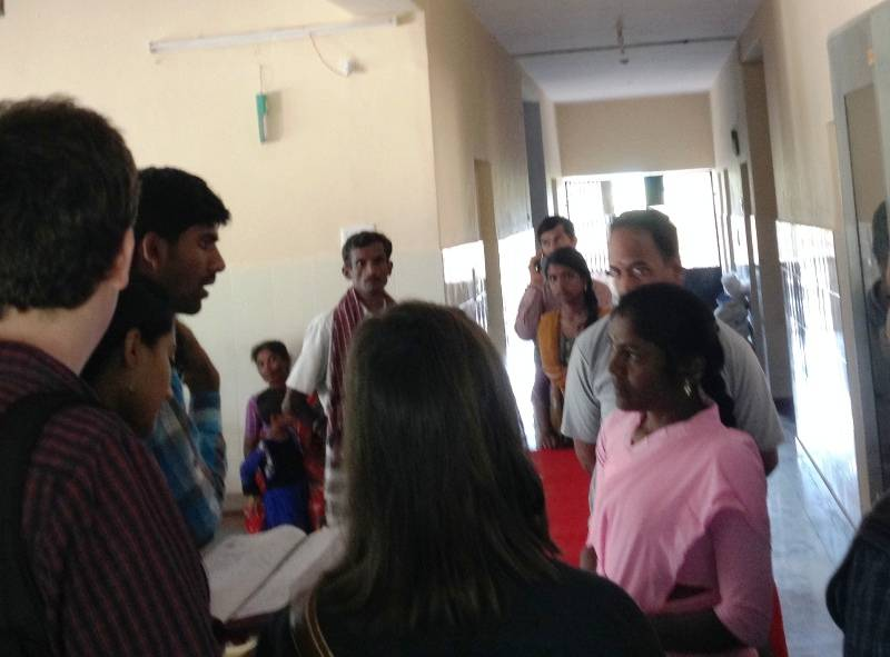 Meeting with Medical Officer at Addgal PHC - Kolar Primary Health Care Initiative, 29.01.2016