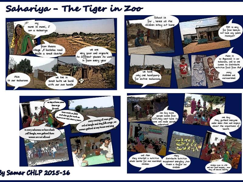 Sahariya tribe, By Samar Khan, CHLP Fellow 2015-16 batch
