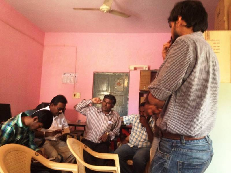 Kolar Comprehensive Primary Health Care meeting with Karnataka Jnana Vijnana Samithi, 20.01.2016